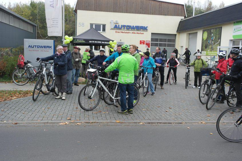 Ein Novum Beim Diesjahrigen Abradeln Fahrrad Leipzig